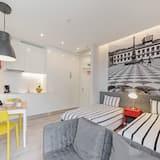 Appartement, 1 slaapkamer, Balkon - Woonruimte
