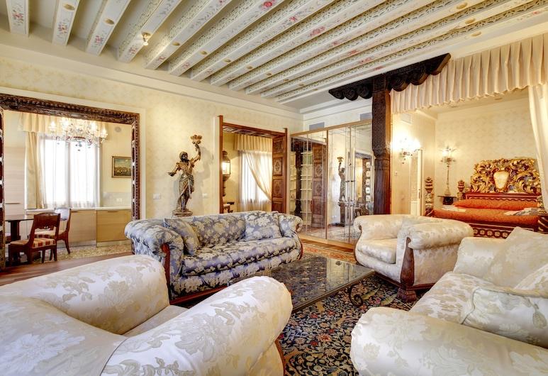 San Severo Suite Apartment Venice, Veneetsia, Külaliskorter, Lõõgastumisala