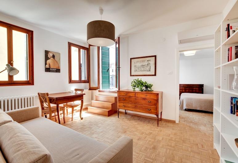 威尼斯聖斯泰法諾學院公寓酒店, 威尼斯, 公寓, 客廳