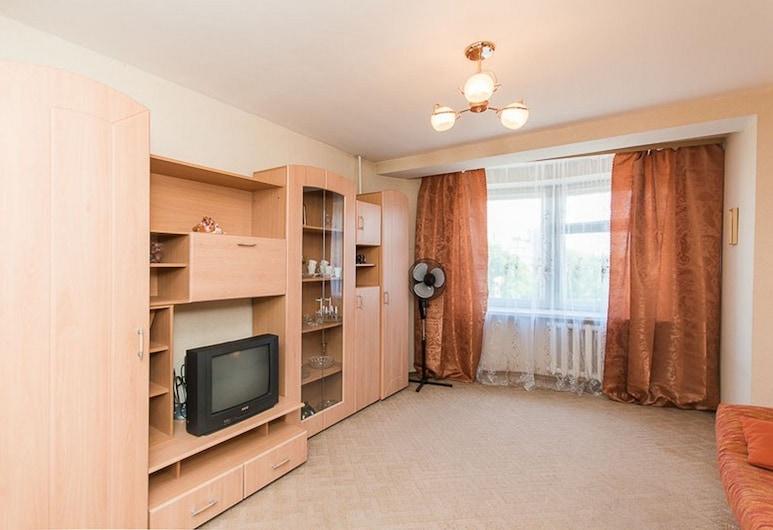 Apartment on Gorkogo 142 - 22, Nizhny Novgorod, Íbúð, Stofa