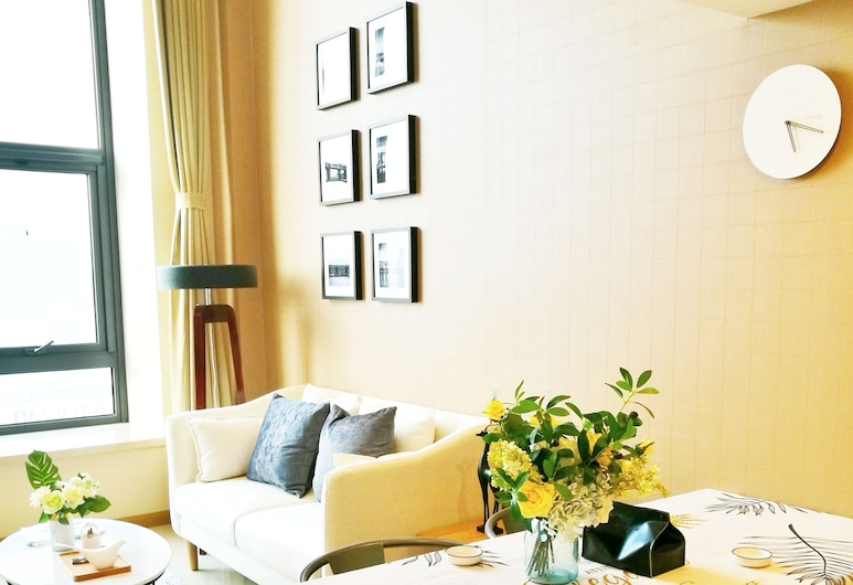 ID HOUSE near by Beijing Capital Airport, Beijing, Deluxe Room, Living Area