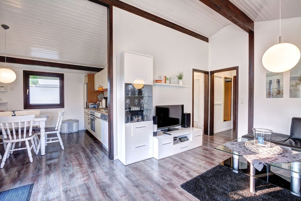 Bungalow (Silbersee ) - Salle de séjour