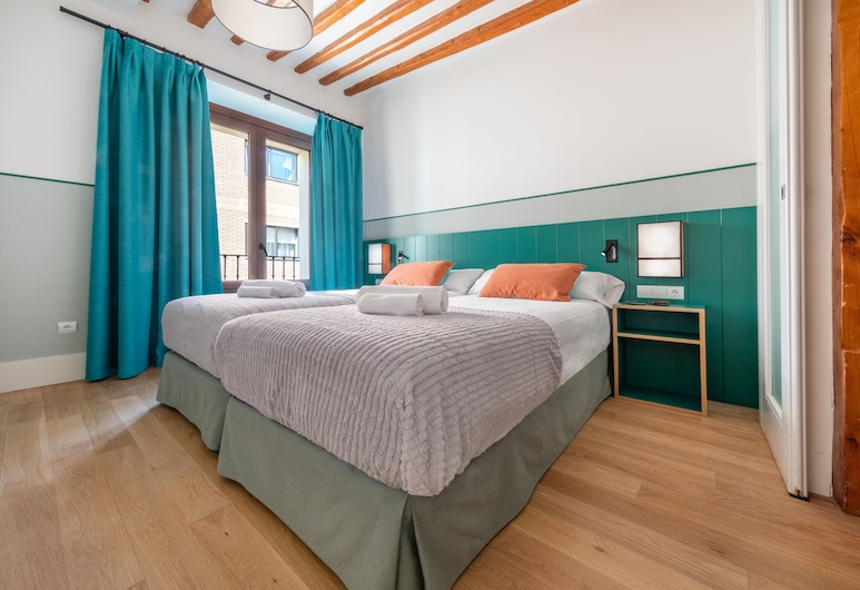 Slow Suites Chueca, Madrid, Appartement Deluxe, 2 chambres, Chambre
