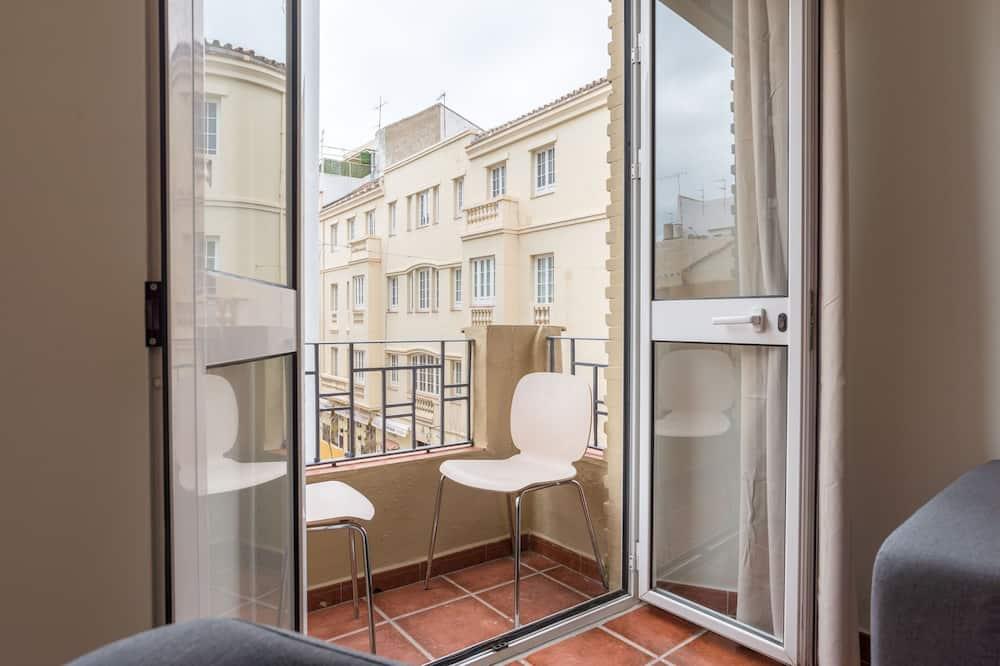 Appartement, 2 slaapkamers, Balkon - Balkon
