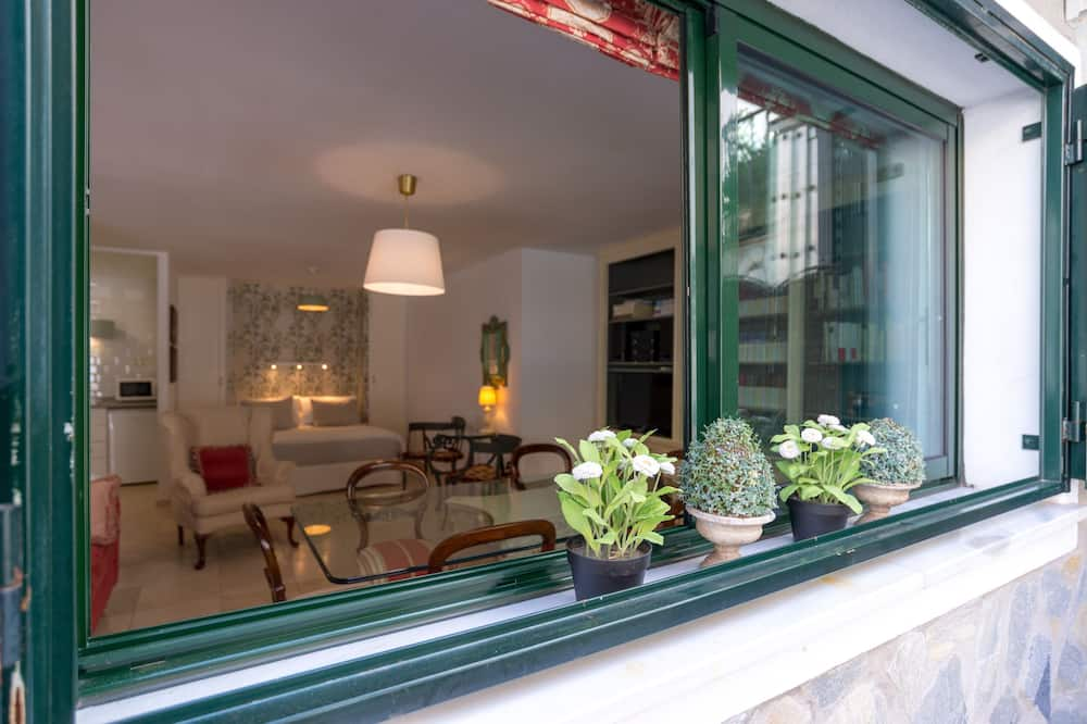 Loftový byt, 1 spálňa, terasa - Obývacie priestory