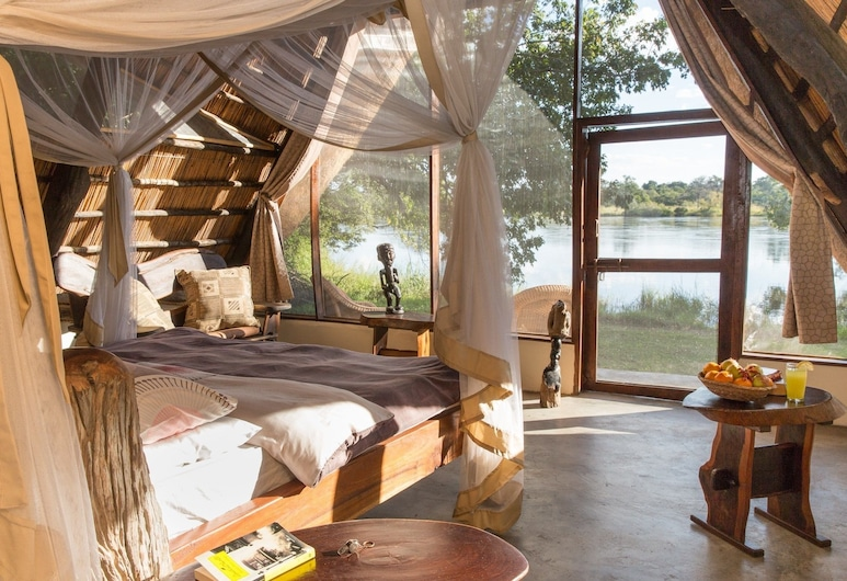 Hippo Lodge, Kafue National Park, Camera doppia (Imberbe), Camera