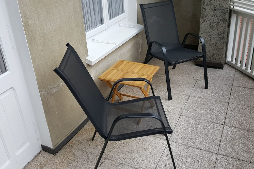 豪華雙人房 (shared bathrooms) - 陽台