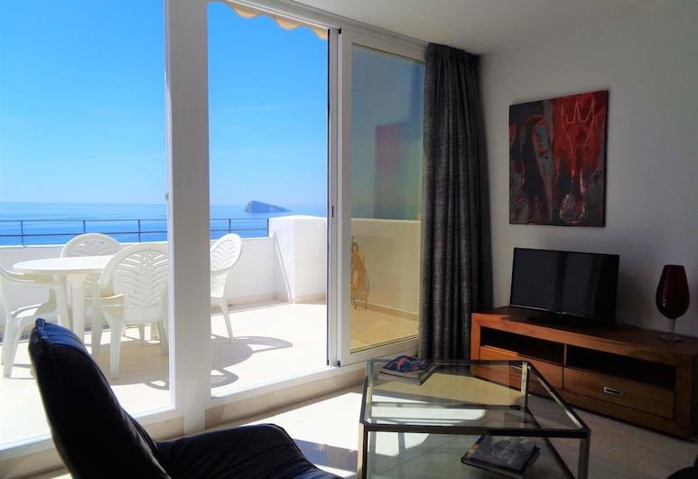 Benidorm Infinity, Benidorm, Căn hộ, 2 phòng ngủ, Quang cảnh biển, Phòng khách