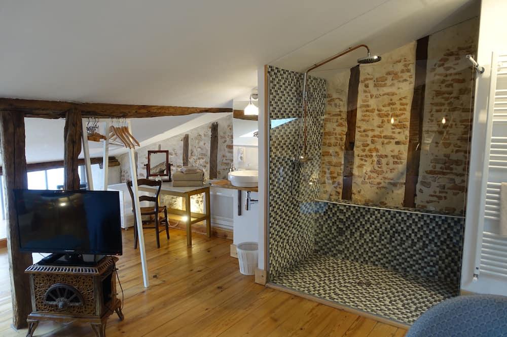標準雙人房, 私人浴室, 城市景 (Chambre cuivre) - 浴室