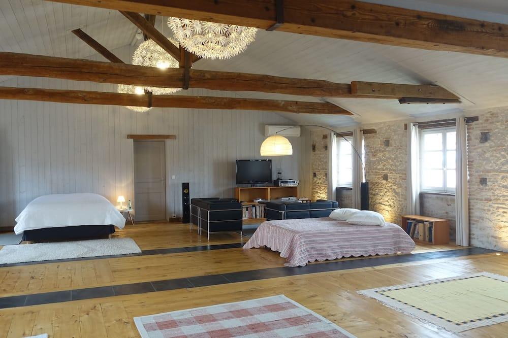 舒適樓中樓客房, 私人浴室 (Loft) - 客房