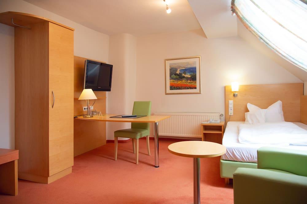 Standaard eenpersoonskamer, privébadkamer - Binnenkant hotel