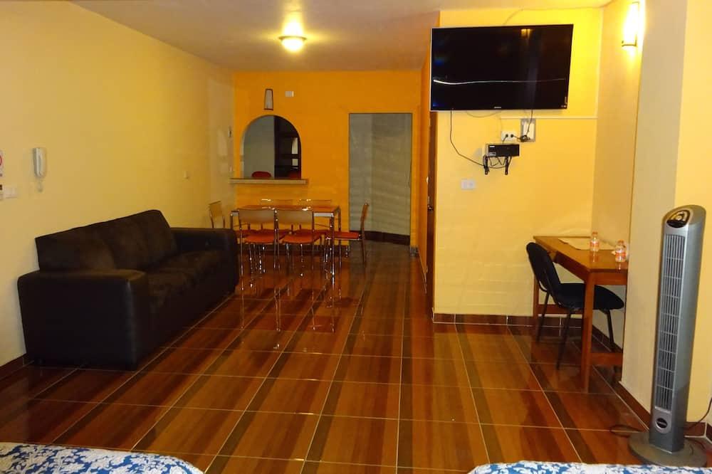 尊榮套房, 非吸煙房, 廚房 - 客廳