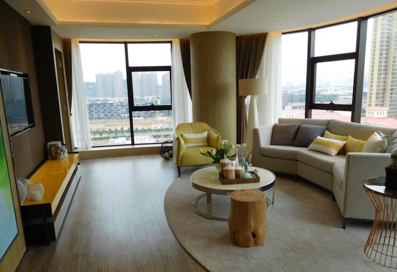 大橫琴高級人才公寓酒店, 珠海市, 客廳