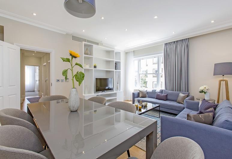 切斯曼庭園酒店, 倫敦, 豪華公寓, 客房內用餐