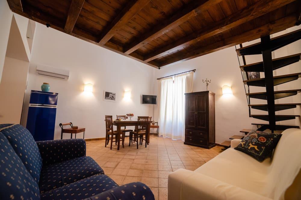 شقة جالاري - منطقة المعيشة