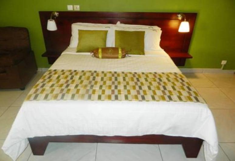 레지덩스 오텔 산타 아델리나, 아비장, 싱글룸, 객실