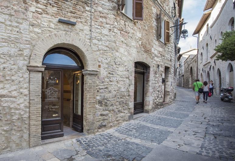 Hotel Il Duomo, Assise, Façade de l'hôtel