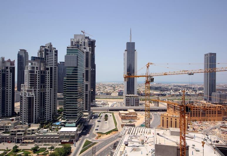 New Arabian Holiday Homes - 8 Boulevard, Dubai, One Bedroom 2511, Vardagsrum