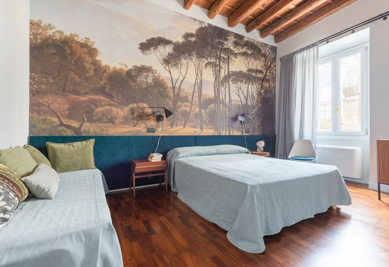 Buonanotte Colosseo, Rome, Comfort Triple Room, Multiple Beds, Non Smoking, Guest Room
