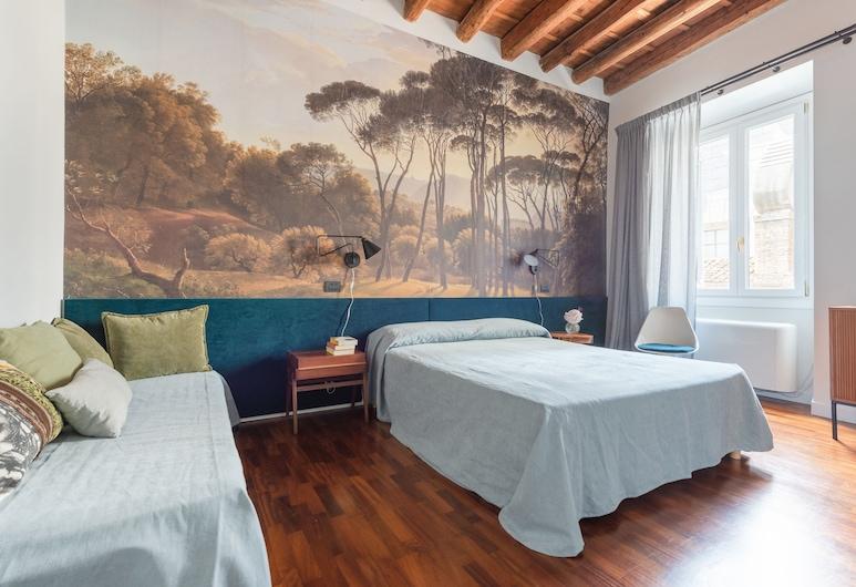 晚安競技場酒店, 羅馬, 舒適三人房, 多張床, 非吸煙房, 客房