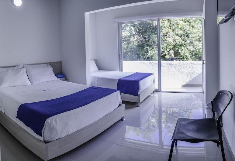 Hotel Suite Del Parque, Μεντεγίν, Τρίκλινο Δωμάτιο, Δωμάτιο επισκεπτών