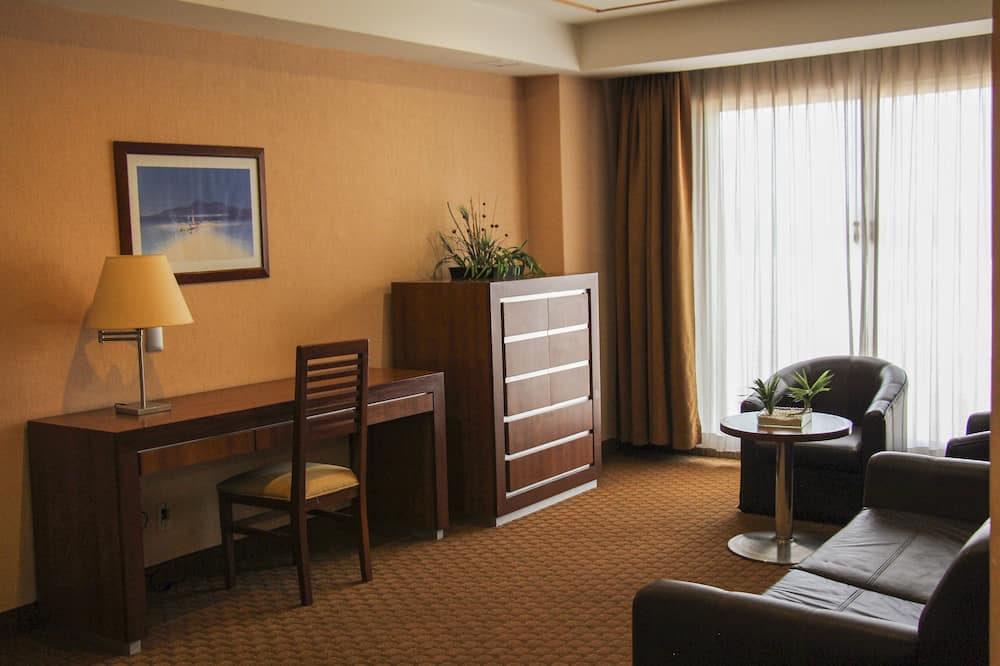 Deluxe Suite, 1 Bedroom, Jetted Tub - Living Room