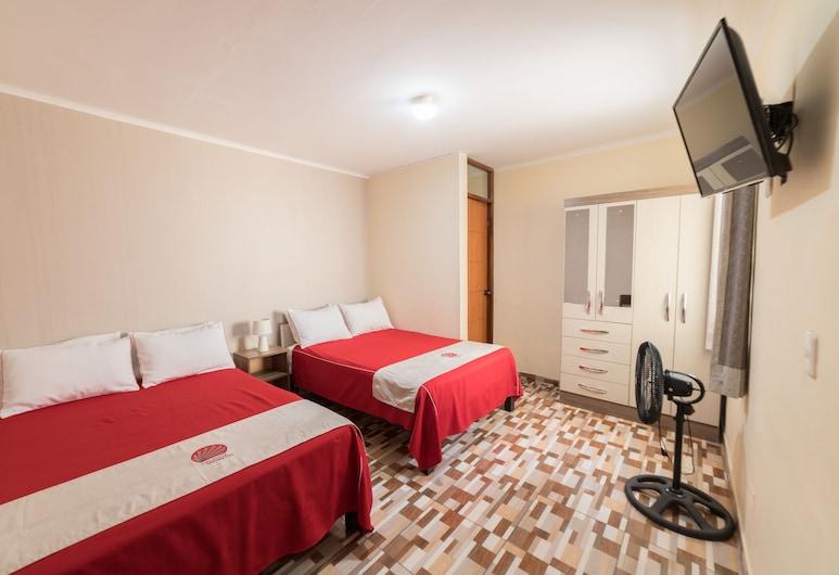 Residencial Valdivia, Tacna, Habitación cuádruple familiar, 2 camas dobles, Habitación