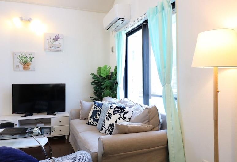 Blue Ocean, Okinawa, Dom (Private Vacation Home), Obývačka