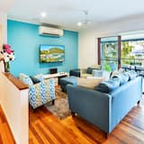 Casa, 3 habitaciones (1K,1Q,2S, 1AirBed or 1K,2Q,1AirBed) - Sala de estar