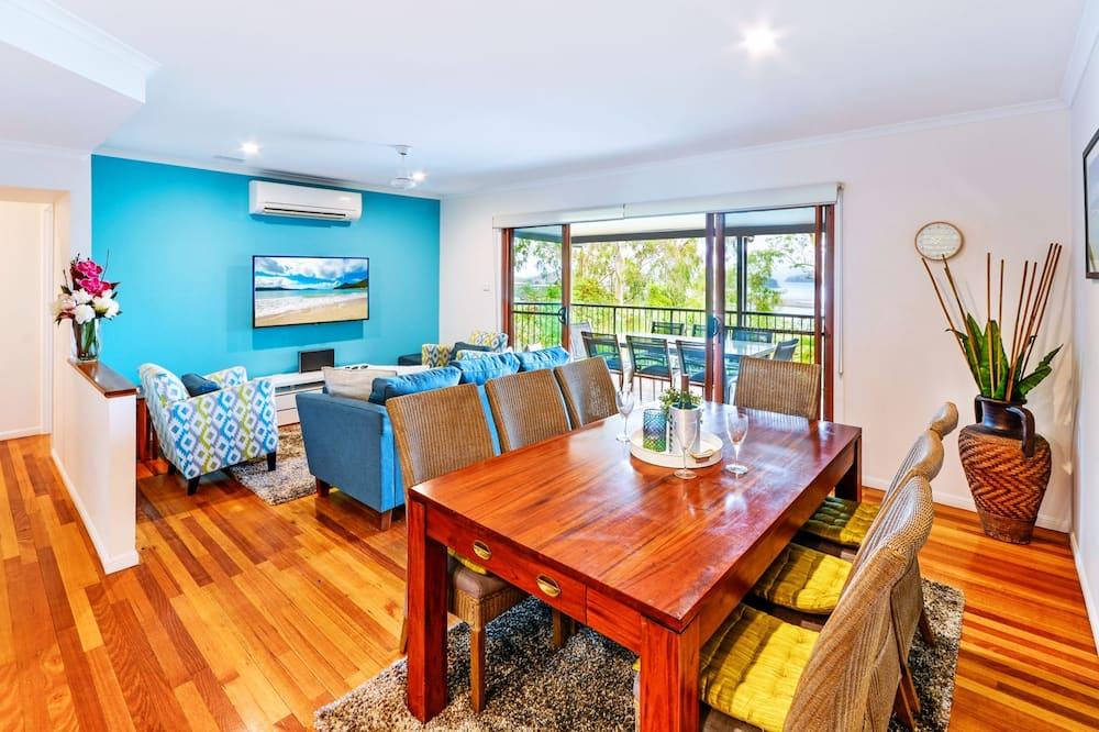 Casa, 3 habitaciones (1K,1Q,2S, 1AirBed or 1K,2Q,1AirBed) - Servicio de comidas en la habitación