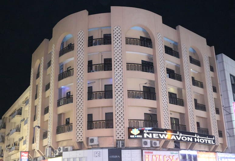 뉴 에이본 호텔, 두바이, 외부