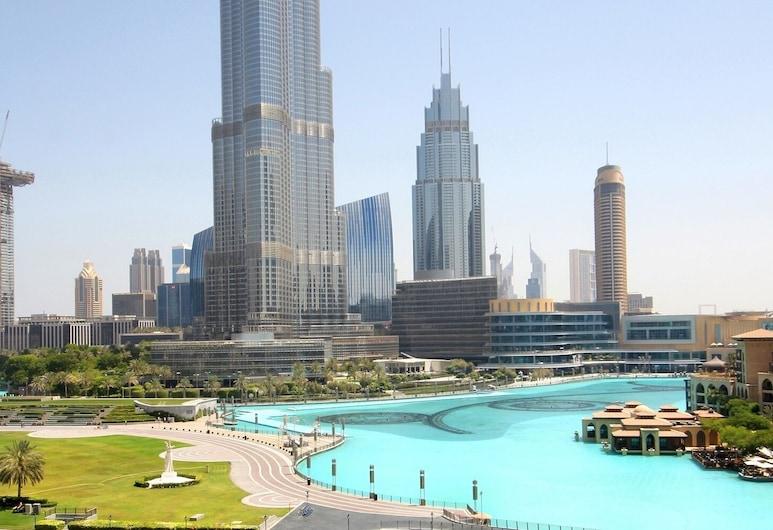 New Arabian Holiday Homes - Residence 5, Dubai, Apartment, 2 Bedrooms, Non Smoking, City View (702), Living Room