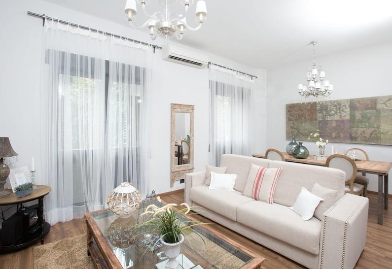 BCN Rambla Catalunya Apartments, Barcelona, Lyxlägenhet - 1 sovrum, Vardagsrum