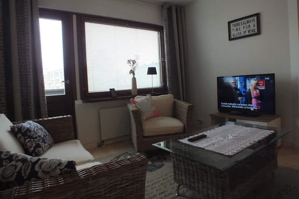 Apartment, 1 Schlafzimmer (A5) - Wohnbereich
