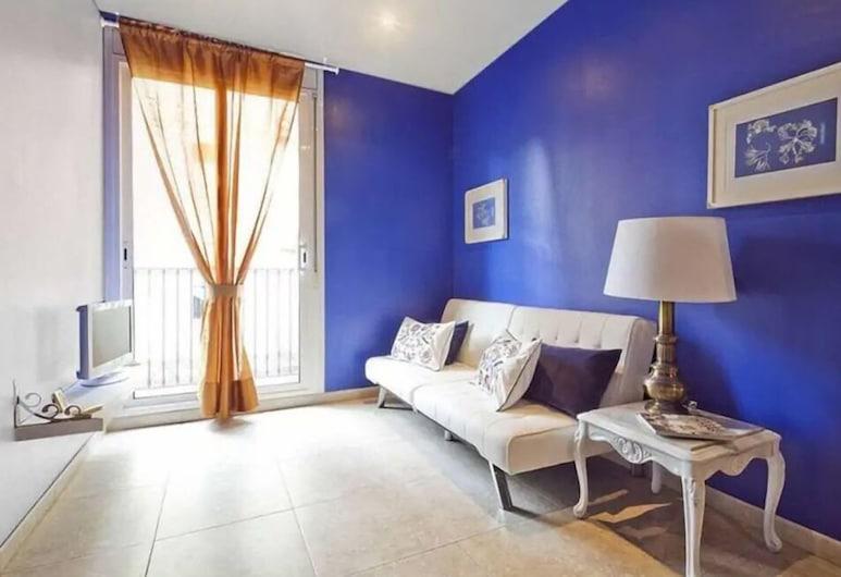 BHM1-036 Apartment with Balcony BCN, ברצלונה, אזור ישיבה בלובי