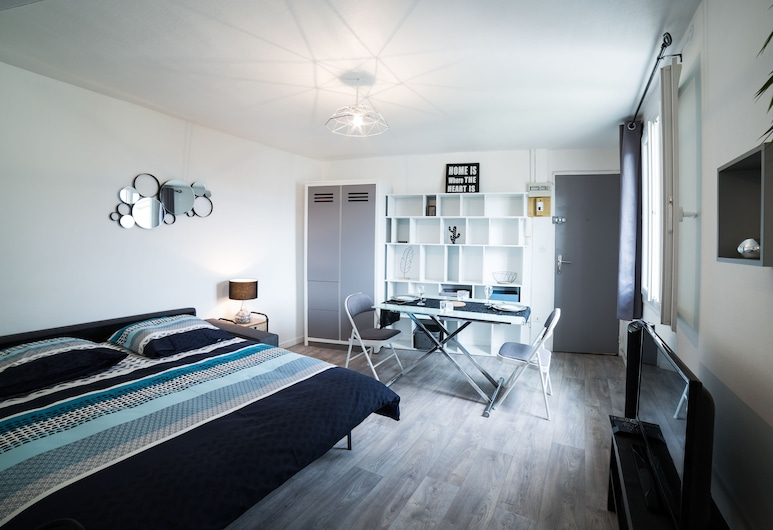 盧昂之心 - 車站公寓酒店, 盧昂, 舒適公寓, 非吸煙房, 廚房, 客房景觀