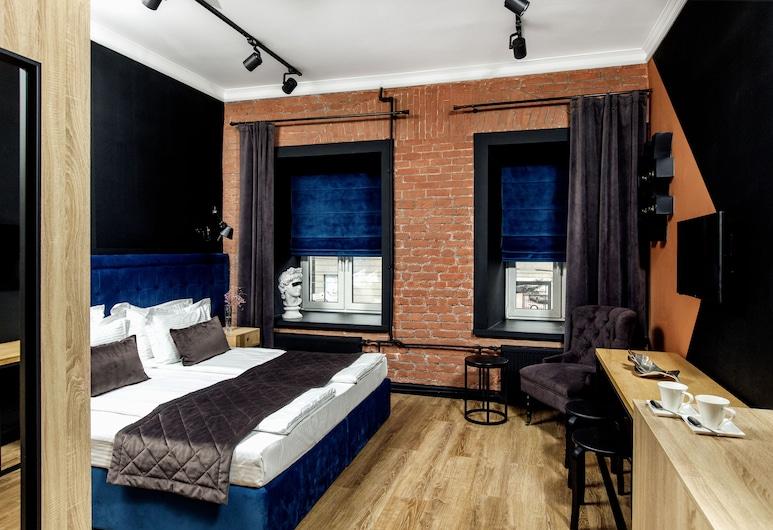 Kentron Boutique Hotel, Peterburi, Deluxe kahetuba, 1 lai voodi, Tuba
