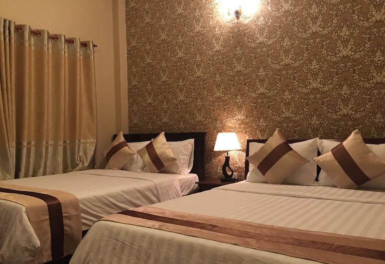 アジアン キッチン ホテル, ホーチミン, デラックス 4 人部屋 (Queen), 部屋