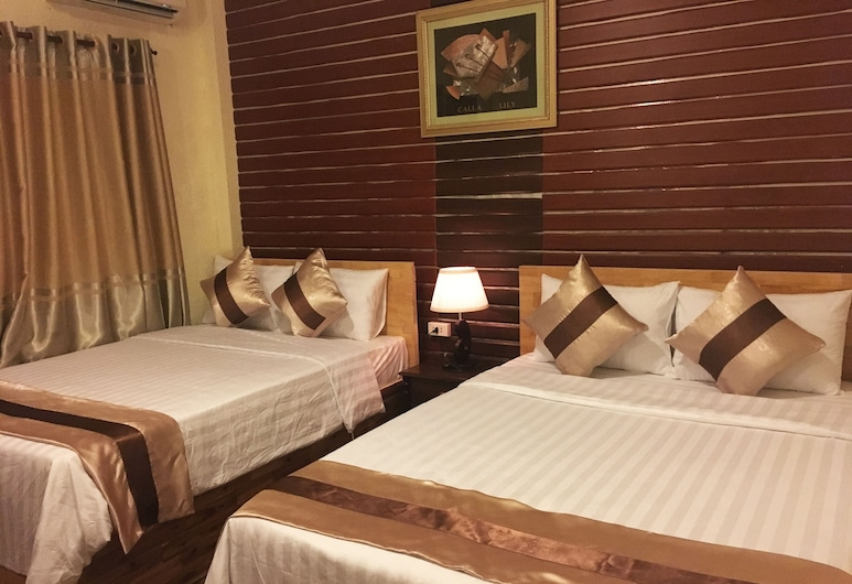 Asian Kitchen Hotel, Ho Chi Minh City, Deluxe Quadruple Room, Guest Room