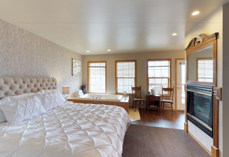 Birchfield Manor, Yakima, Apartamento, para não fumantes (Apartment with Mountain View), Quarto