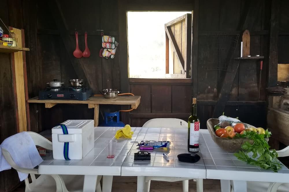 Traditionel hytte - 2 soveværelser - Spisning på værelset