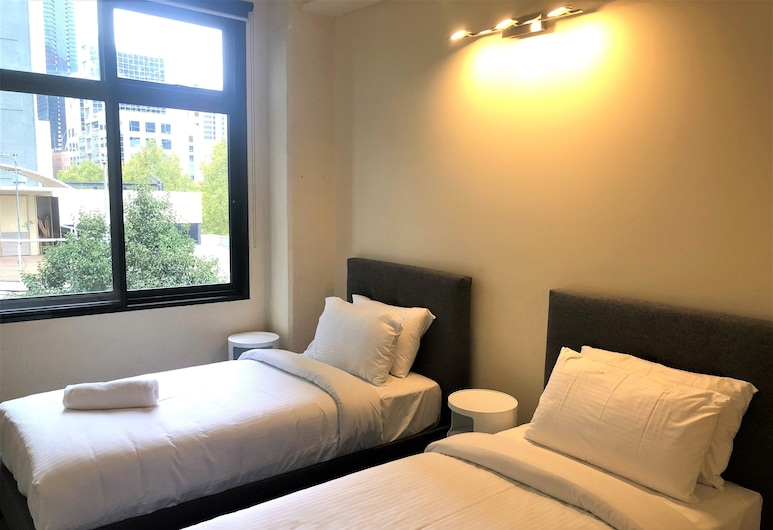 Readyset on King, Melbourne, Premier Apartment, 3 Bedrooms, Room
