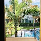 Villa familiar, 2 habitaciones, vista a la piscina, junto a la piscina - Balcón