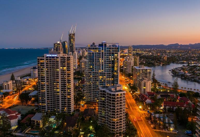 29/F Private Apartment in Iconic Q Resort & Spa. Ocean & River Views, Surfers Paradise, Exterior