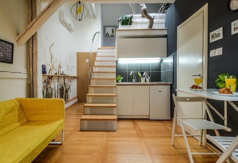 Apartments KRUC, Zagreb, Studio, Wohnbereich