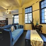 Išskirtinio dizaino apartamentai, 3 miegamieji - Svetainė