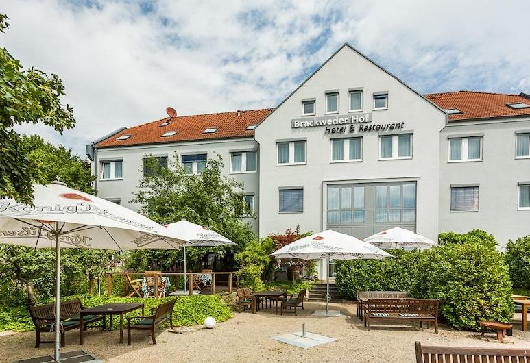 Hotel Brackweder Hof, Bielefeld, Açık Havada Yemek