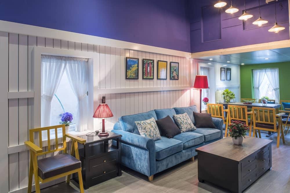 Dzīvokļnumurs, trīs guļamistabas - Dzīvojamā zona