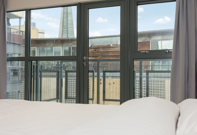 Spacious Flat With View of the Shard, London, Ausblick vom Zimmer
