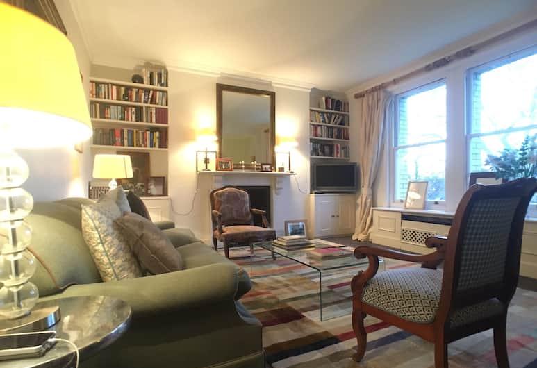 Chelsea 2 Bedroom Apartment, London, Külaliskorter (2 Bedrooms), Elutuba